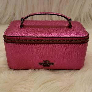 💖NWT Authentic Coach Jewelry Vanity Case